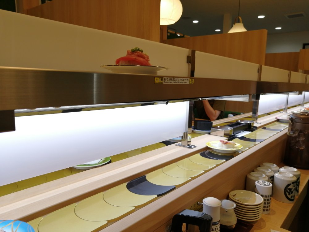 回転寿司レーン
