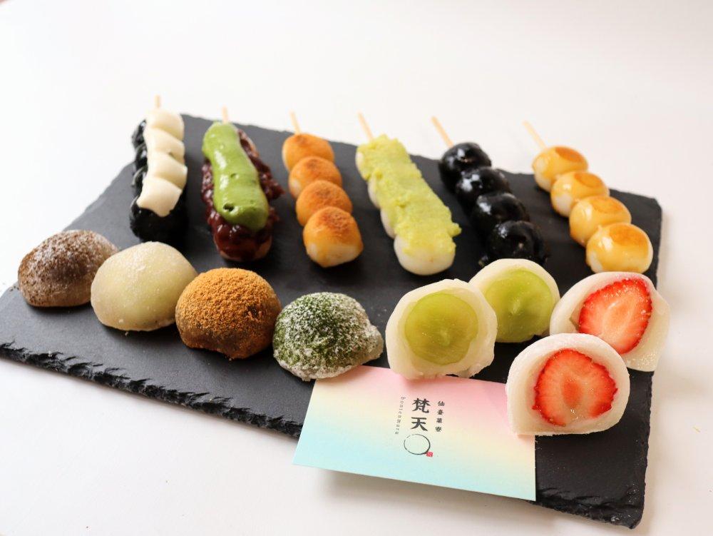 ネオ和菓子店 梵天丸のスイーツ