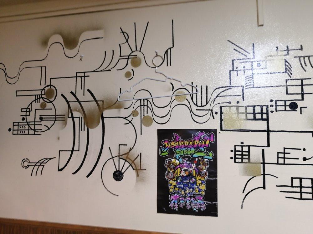 壁のアート