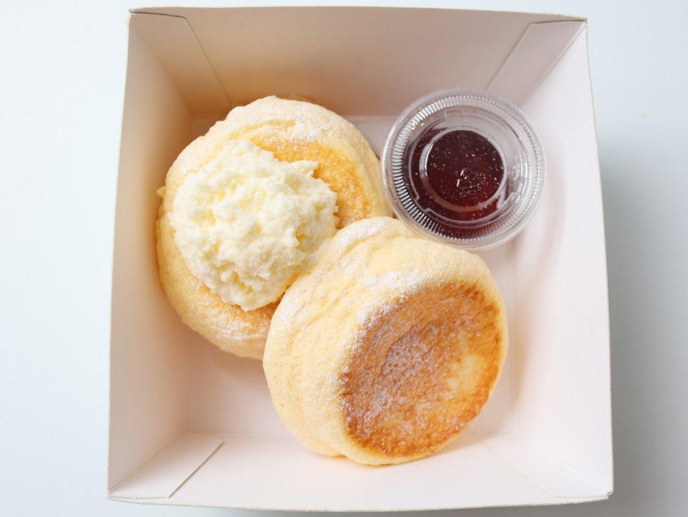 こびとぱん仙台店のパンケーキ