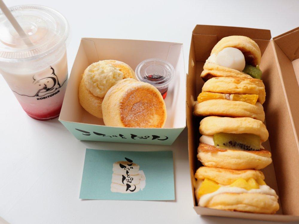 こぴとぱん仙台店でパンケーキをテイクアウト