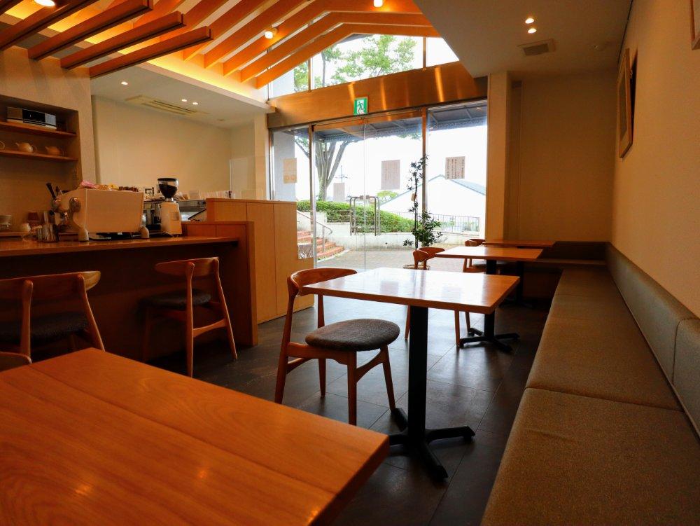 Eigyokudo cafe イートインスペース
