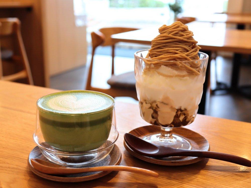 英玉堂カフェでカフェタイム