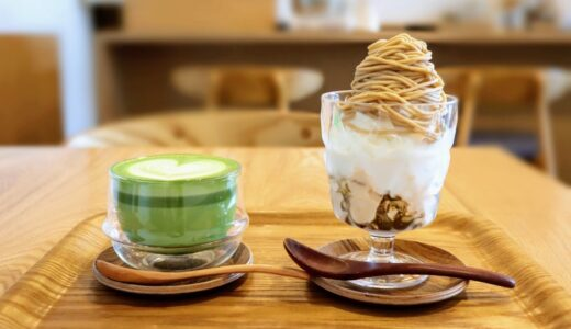 秋のパフェ活!Eigyokudo cafeで至高のモンブランプリンソフト