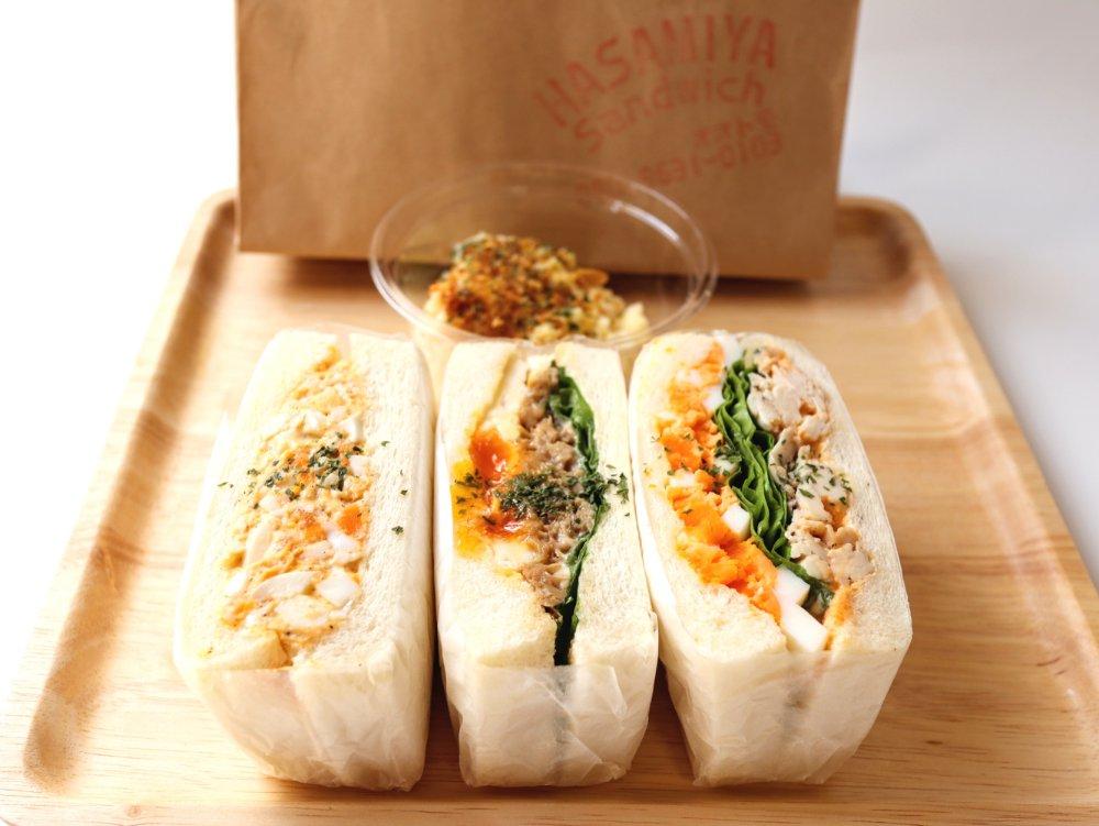 いろは横丁ハサミヤオオトモのサンドイッチ