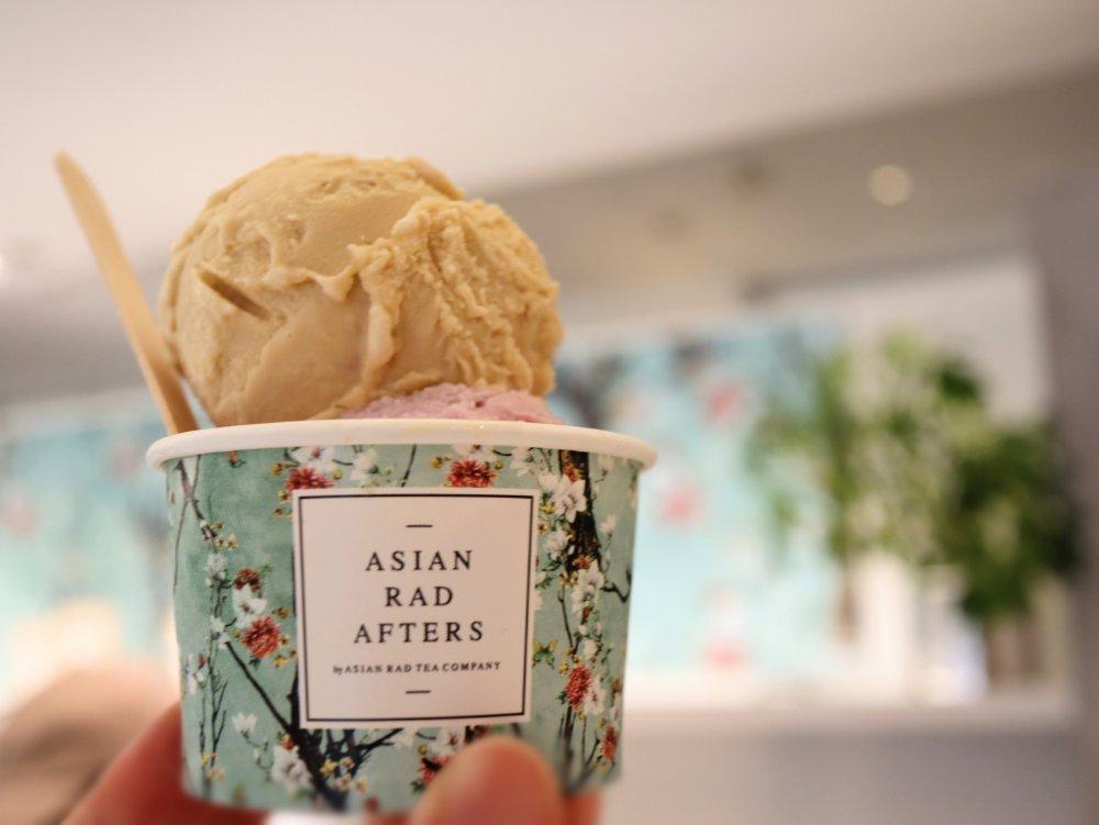仙台フォーラスでアジアンスイーツ専門店のアイスクリーム