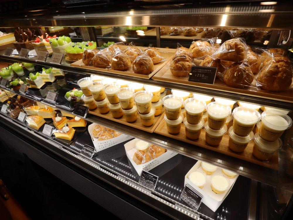 ヤツドキグリーンマート桂の生菓子コーナー