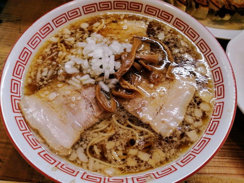 仙台浅草 傅吉食堂のラーメン