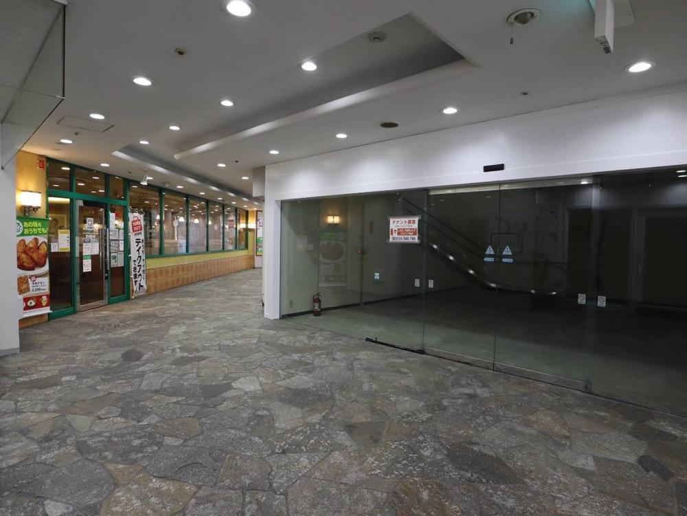 東映プラザ1階の空きテナント