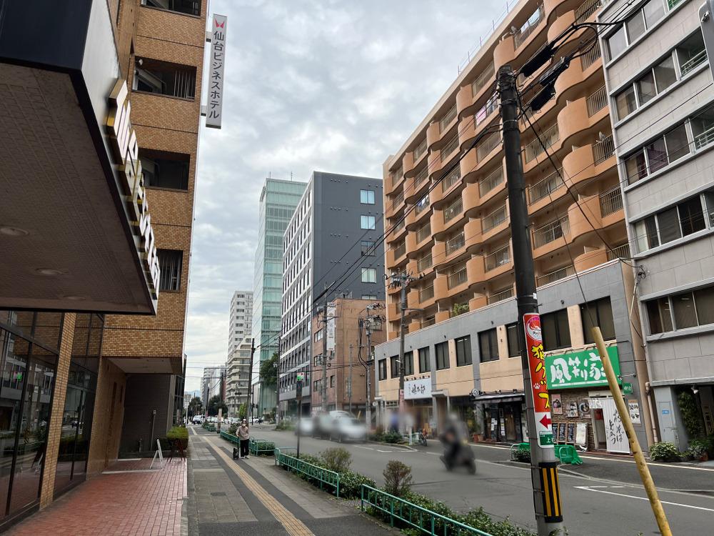仙台ビジネスホテル周辺