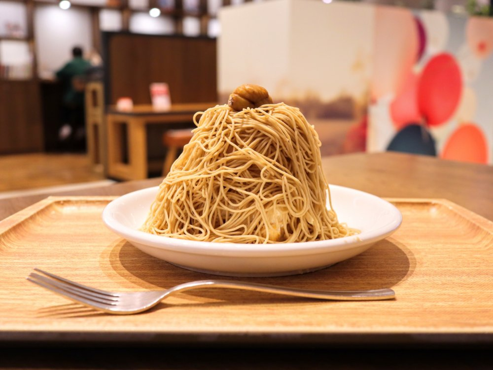 仙台のブルーリーフカフェに和栗モンブランが新登場