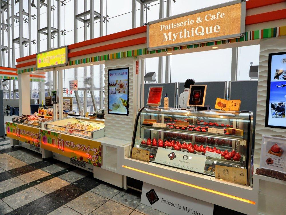仙台空港のヴィッカ販売会