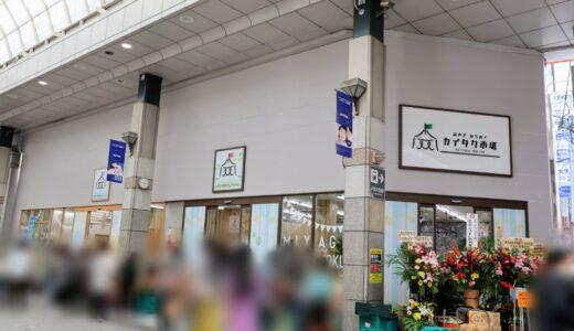 【新店情報】仙台縁日の跡地に「みやぎ・みちのくカイタク市場」がオープン!
